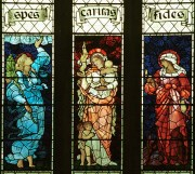Stained glass Burne-Jones