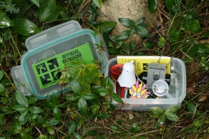 Geocache uncovered