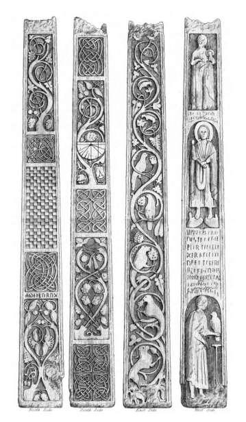 Celtic Cross design - Bewcastle, Cumbria