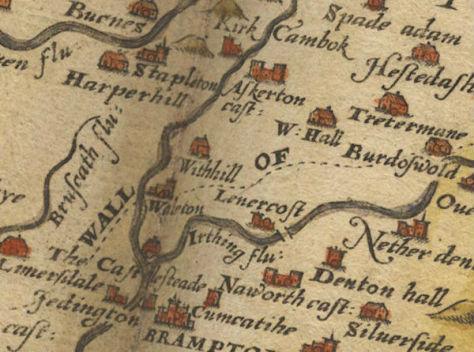 Brampton, Cumberland in 1576