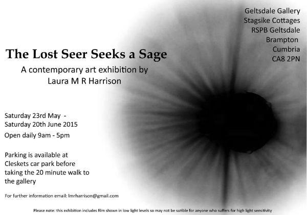 The Lost Seer Seeks a Sage flier